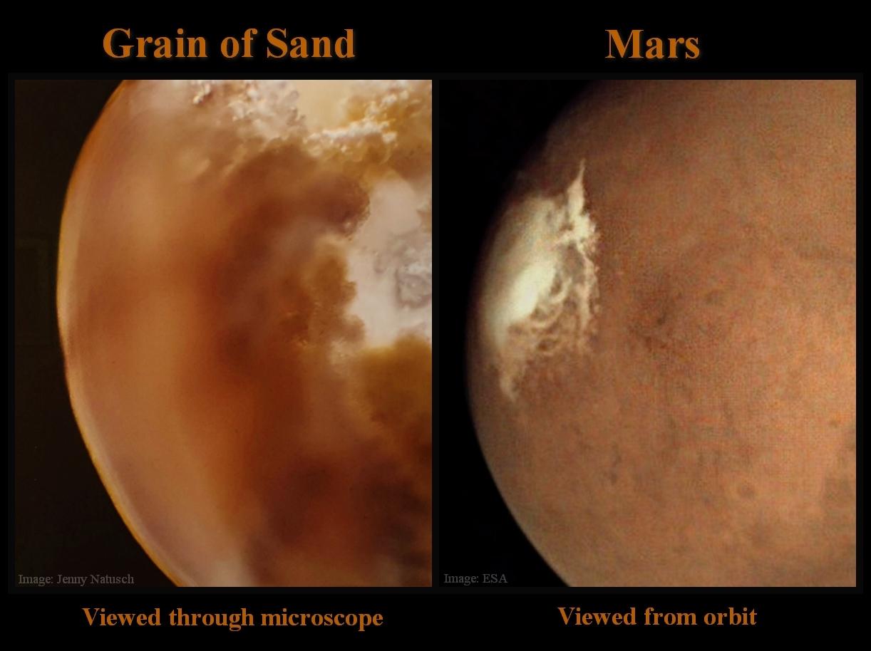 grain of sand / mars